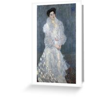 Gustav Klimt - Portrait Of Hermine Gallia  Greeting Card