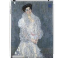 Gustav Klimt - Portrait Of Hermine Gallia  iPad Case/Skin