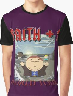 Faith+1 World Tour South park Graphic T-Shirt