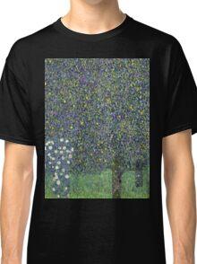 Gustav Klimt - Roses Under The Trees-   Gustav Klimt - Landscape Classic T-Shirt