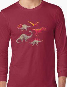 Geo-saurs Long Sleeve T-Shirt