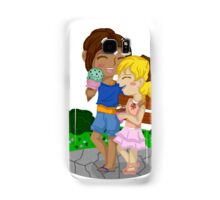 Ymir and Christa (Historia) Ice cream date Samsung Galaxy Case/Skin