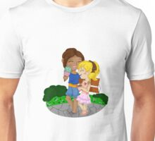 Ymir and Christa (Historia) Ice cream date Unisex T-Shirt