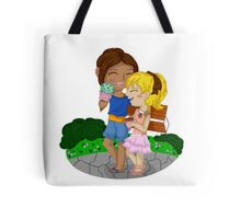 Ymir and Christa (Historia) Ice cream date Tote Bag