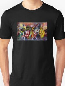RIDERS IN THE NIGHT Unisex T-Shirt