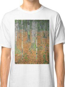 Gustav Klimt - The Birch Wood -  Klimt -Birch Trees  Classic T-Shirt