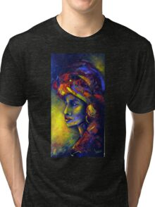 A touch of Africa Tri-blend T-Shirt