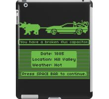 The Delorean Trail iPad Case/Skin