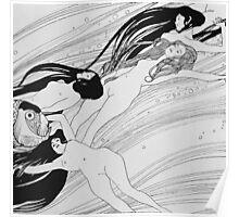 Gustav Klimt - The Blood Of Fish -Klimt  Poster