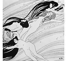 Gustav Klimt - The Blood Of Fish -Klimt  Photographic Print
