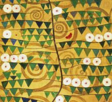 Gustav Klimt - Tree Of Life - Gustav Klimt  -Life - Tree Sticker