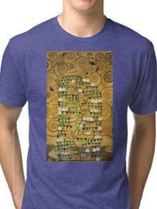 Gustav Klimt - Tree Of Life - Gustav Klimt  -Life - Tree Tri-blend T-Shirt