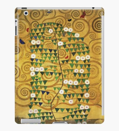 Gustav Klimt - Tree Of Life - Gustav Klimt  -Life - Tree iPad Case/Skin