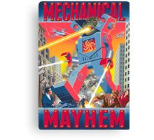Mechanical Mayhem Canvas Print
