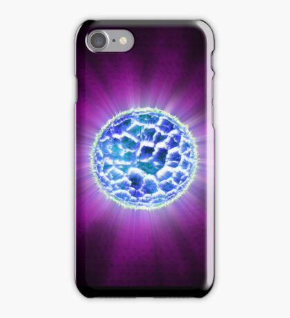 Ice Planet Supernova iPhone Case/Skin