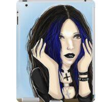 Elvira Semi Realist iPad Case/Skin
