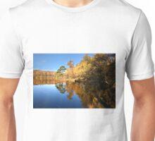 Autumn reflections on Finsthwaite tarn Unisex T-Shirt