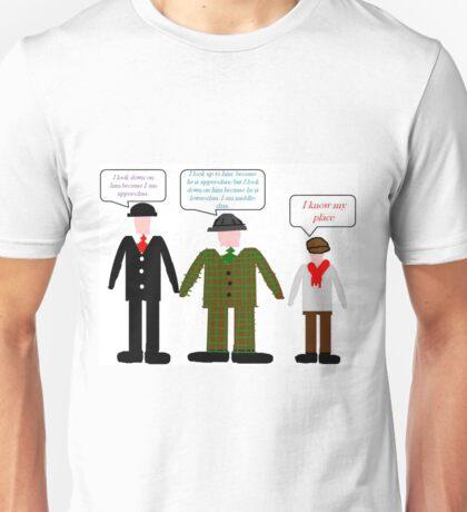 On Class-Minimalist design Unisex T-Shirt