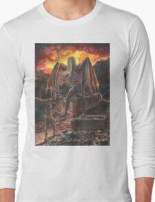 Saurian Sanctuary Long Sleeve T-Shirt