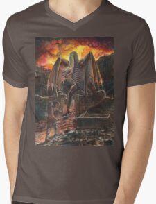 Saurian Sanctuary Mens V-Neck T-Shirt