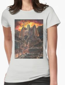 Saurian Sanctuary Womens Fitted T-Shirt