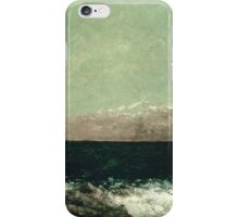 Vintage famous art - Gustave Courbet - The Mediterranean iPhone Case/Skin