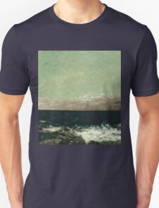Vintage famous art - Gustave Courbet - The Mediterranean Unisex T-Shirt