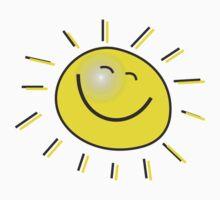 Smiling happy Sun Kids Tee