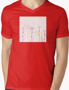 1000 and 1 Herbs Design Collection Mens V-Neck T-Shirt