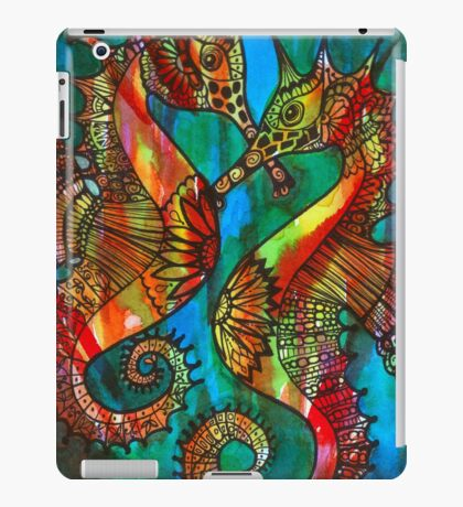 Seahorses - Kerry Beazley iPad Case/Skin