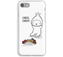FuzzyThoughts - Train iPhone Case/Skin