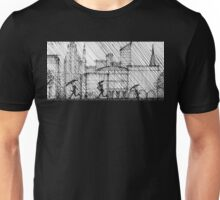 Rainy Day Cityscape Unisex T-Shirt