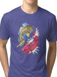 koi Tri-blend T-Shirt