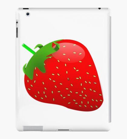 Summer Fresh Strawberry iPad Case/Skin