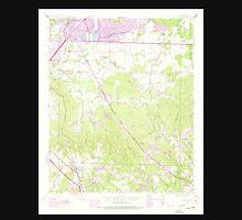 USGS TOPO Map Alabama AL Spruce Pine 305095 1945 24000 Unisex T-Shirt