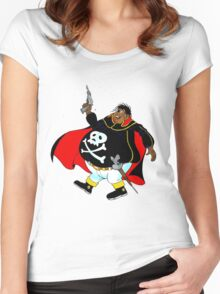 fat Women's Fitted Scoop T-Shirt