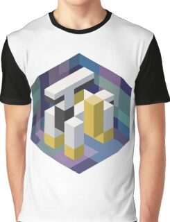 Arceus Voxel Graphic T-Shirt
