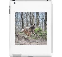 Jumping Puppy iPad Case/Skin