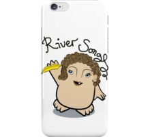 Dr Who River Song Adipose iPhone Case/Skin