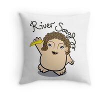 Dr Who River Song Adipose Throw Pillow