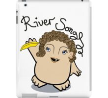 Dr Who River Song Adipose iPad Case/Skin