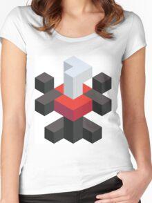 Voxel Darkrai Women's Fitted Scoop T-Shirt