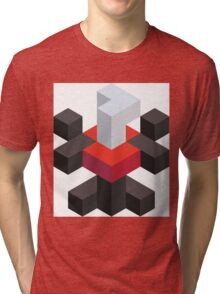 Voxel Darkrai Tri-blend T-Shirt