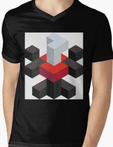 Voxel Darkrai Mens V-Neck T-Shirt