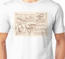 Oyster Opening Guide Unisex T-Shirt