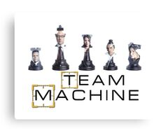 Team Machine Canvas Print