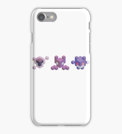 Ghastly Evolution Line, Pokemon iPhone Case/Skin