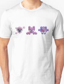 Ghastly Evolution Line, Pokemon Unisex T-Shirt