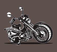 Cartoon Motorcycle Baby Tee