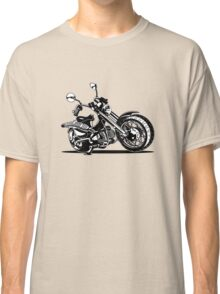 Cartoon Motorcycle Classic T-Shirt